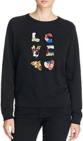 Tory Burch Kelsey Love Embellished Sweatshirt