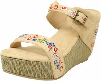 Volatile Women's Bowtie Wedge Sandal
