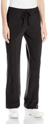 Cherokee Women's Tall Infinity Low-Rise Straight Leg Drawstring Pant