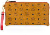 MCM printed clutch - women - Leather/Canvas - One Size