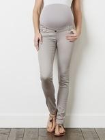 Slim-Fit Maternity Jeans, Inside Leg 32'' - raspberry, Maternity   Vertbaudet