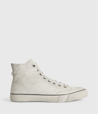 AllSaints Dumont High Top Suede Sneakers