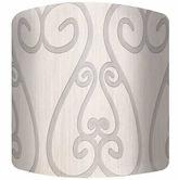 Asstd National Brand Soft Iron Canvas Drum Lamp Shade