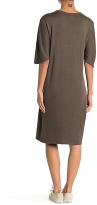 CENY Short Sleeve T-Shirt Dress