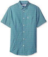 Ben Sherman Men's Short Sleeve Effect Check Shirt