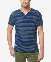 Buffalo David Bitton Men's Cotton Notch-Neck T-Shirt