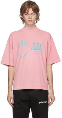 Palm Angels Pink GD Exotic Club Boxy T-Shirt