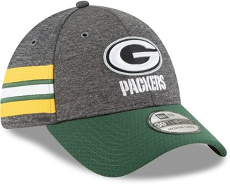 New Era Adult Green Bay Packers Sideline Home Official 39THIRTY Flex-Fit Cap
