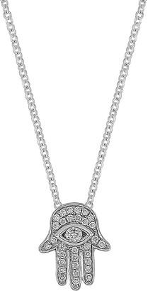 Bony Levy Hamsa Diamond Pendant Necklace