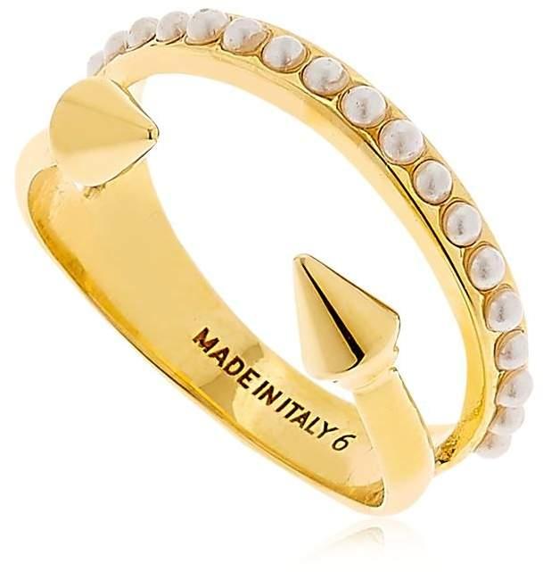 Vita Fede Ultra Mini Titan Pearl Band Ring