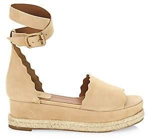 Chloé Women's Lauren Ankle Wrap Espadrilles