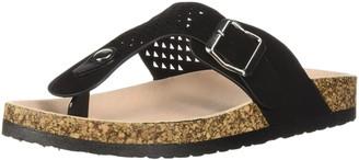Qupid Women's Thong Sandal Flat