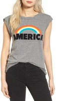 Pam & Gela Women's Frankie America Muscle Tee
