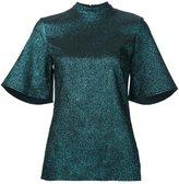 Ellery glitter effect blouse