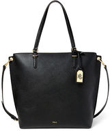 Ralph Lauren Medium Faux-Leather Abby Tote