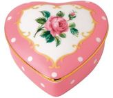 Royal Albert Cheeky Pink Heart Trinket Box