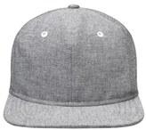Gents Men's 'Paul' Soft Crown Baseball Cap - Grey