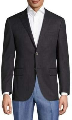Corneliani Striped Wool Sportscoat