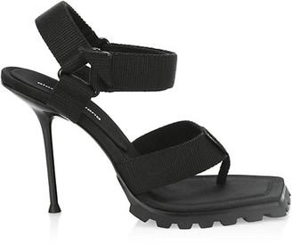 Alexander Wang Julie Lug Sole Stiletto Sandals