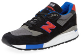 New Balance 998 Suede Round-Toe Low Top Sneaker