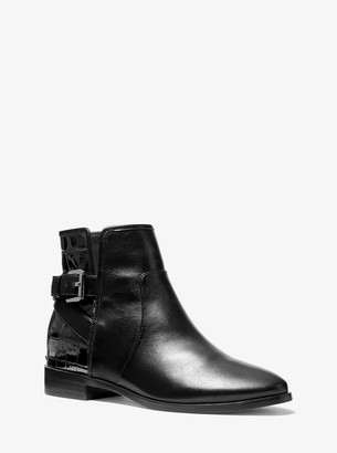 MICHAEL Michael Kors Salem Leather Ankle Boot