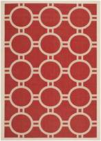 """Safavieh Courtyard Collection CY6924-248 and Bone Indoor/ Outdoor Area Rug, 5 feet 3 inches by 7 feet 7 inches (5'3"""" x 7'7"""")"""