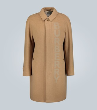 Burberry Wool and cashmere-blend car coat