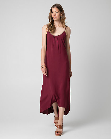 Le Château Challis Scoop Neck High-Low Dress