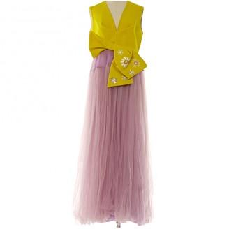 DELPOZO Multicolour Cotton Dresses
