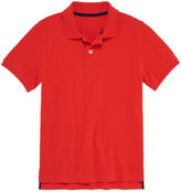 Arizona Short Sleeve Solid Polo Shirt - Big Kid Boys