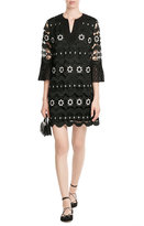 Anna Sui Embroidered Dress