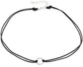 Adina Pave Hexagon Choker Necklace