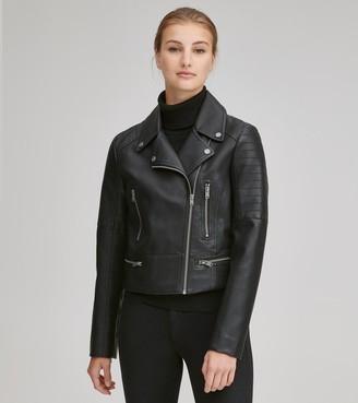 Marc New York   Final Sale Bowne Faux Leather Moto Jacket