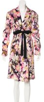 Dries Van Noten Silk Lightweight Coat