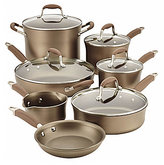 Anolon Advanced Umber Collection 12-Piece Nonstick Cookware Set