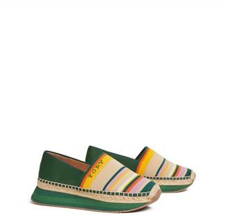 Daisy Mixed-Material Slip-On Sneaker