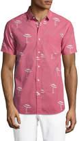 BANKS Men's Umbrella Cotton Sportshirt