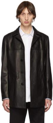 Neil Barrett Black Leather Jacket