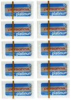 Personna Blue Platinum Blades (100) by 100 Blades)