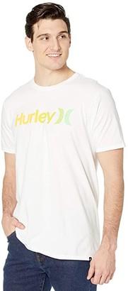 Hurley One Only Gradient 2.0 Short Sleeve Tee (Black/Grey) Men's T Shirt