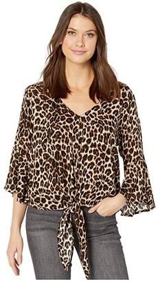 Ariat Marilyn Top (Leopard Print) Women's Clothing