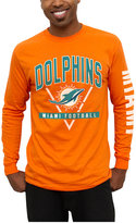 Junk Food Clothing Men's Miami Dolphins Nickel Formation Long Sleeve T-Shirt