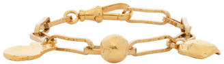 Alighieri Gold A Heap Of Broken Images Bracelet