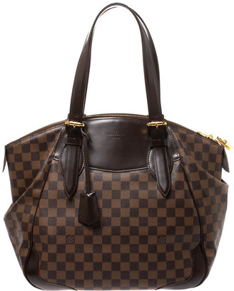 Louis Vuitton Damier Ebene Canvas Verona GM Bag