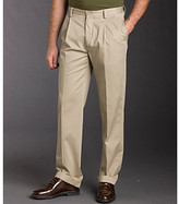 Nautica Men's Double Pleated Cuffed Anchor Pants