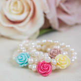 Kathy Jobson Girls Corsage Bracelet