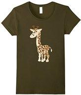 Men's Funny Giraffe Cartoon T-shirt or Pajama Top / Night Shirt 3XL