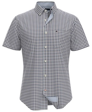 Tommy Hilfiger Men's Greylock Checked Shirt