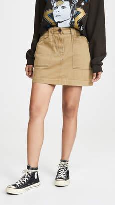 One Teaspoon Khaki Great Escape Worker Skirt
