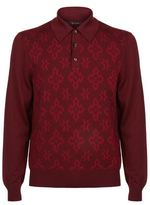Billionaire Printed Polo Sweater